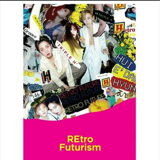 [ORDER] TRIPLE H 2ND MINI ALBUM RETRO FUTURISM