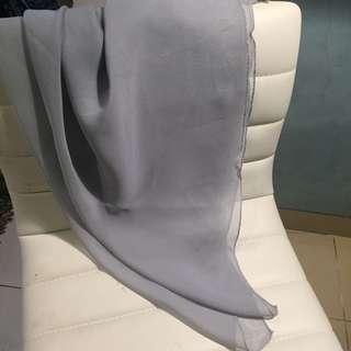 Cloud Grey Poly Cotton
