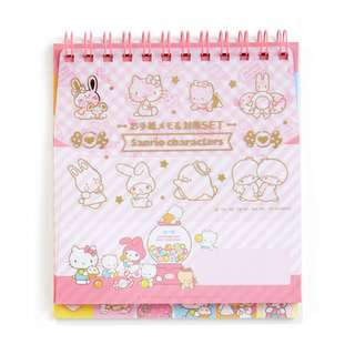 Japan Sanrio Sanrio Characters Cutting Letter Memo & Mini Envelope Set