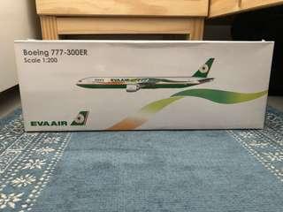 🚚 長榮Boeing 777-300ER模型飛機 (1:200)