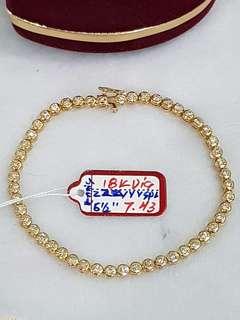 Tennis Bracelet 6 1/2