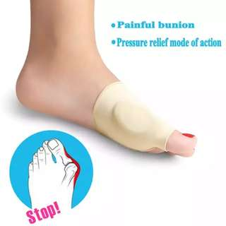 1 Pair Hallux Valgus Correction Sleeve Feet Care Special Big Toe Bone Silicone Ring Foot Thumb Orthopedic Brace Relieve Foot Thumb Pain
