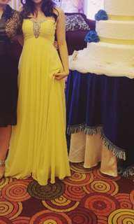 Long Gown Gaun Pesta