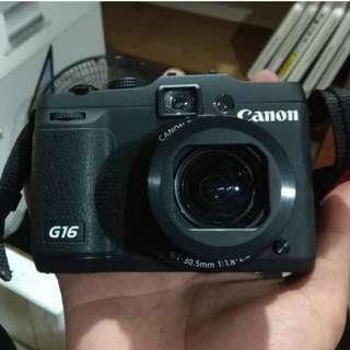 Canon PowerShot G16 - Condition Tiptop !!! -10/10 !!! - Hanya Rm78
