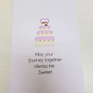 Wedding / Congratulations Greeting Card