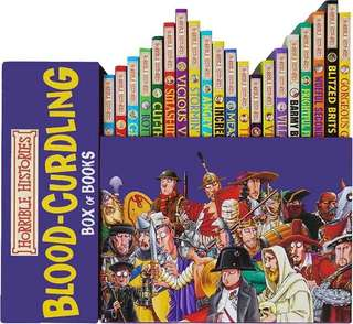 Horrible Histories Box books of 20