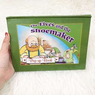 Popup book - The elves & the shoemaker