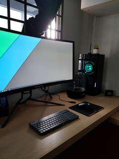 Custom made pc with ryzen 2 and Intel coffeelake, Gtx 1050 1060 1070 1080