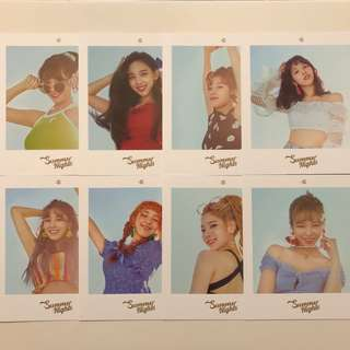 Twice Summer Nights 專輯 大卡