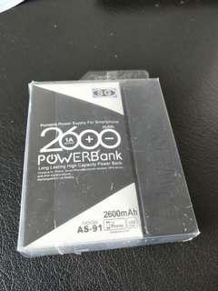 2600mAh Powerbank portable