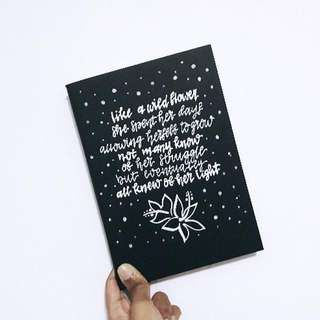 Customized Black Notebook Covers