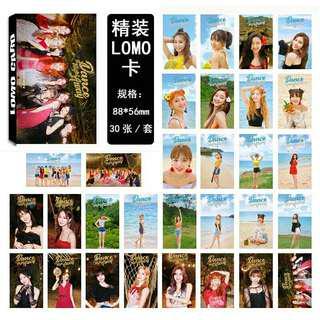 TWICE Lomo Card Set