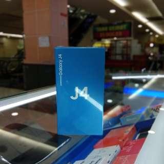 New Samsung J4 cash dan Credit