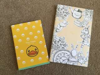 Cute small notebooks