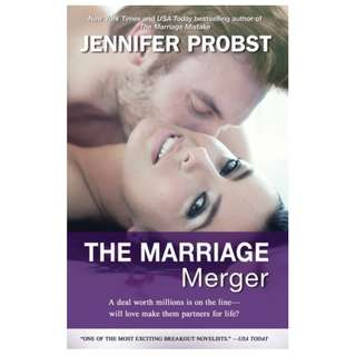 The Marriage Merger (Marriage to a Billionaire #4) Jennifer Probst