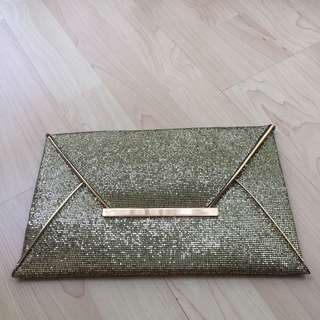 NEW Clutch Gold
