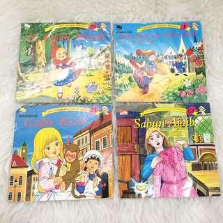 SUPER RARE ❣️❣️ Set dongeng anak