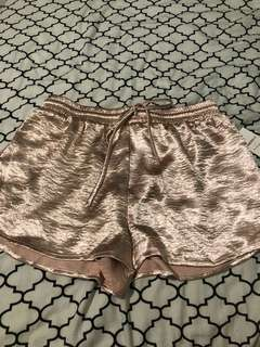 Forever 21 satin/silk shorts