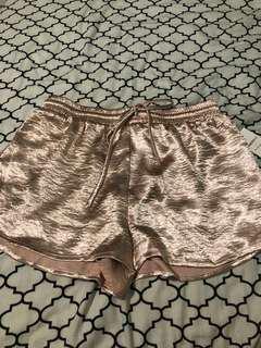 Forever 21 satin/silk shorts