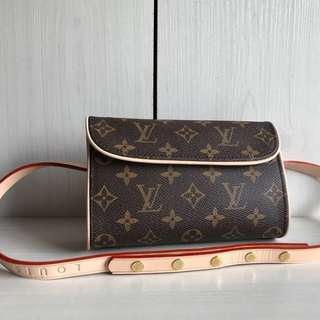 Louis Vuitton Vintage Pochette Florentine Belt Bag (Just look at the price without looking at quality.Please bypass,Tq)