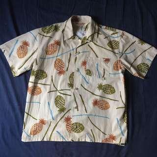 鳳梨夏威夷襯衫 復古