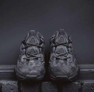 Adidas Yeezy 500 Utility Black Size: US10