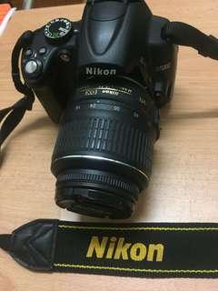 Nikon D5000 with 2 lens