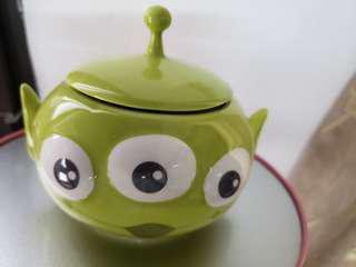陶瓷三眼仔容器