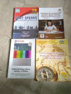 Senior high books