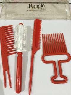 Set sisir rambut