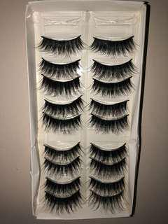 9 Pairs of Mink Lashes