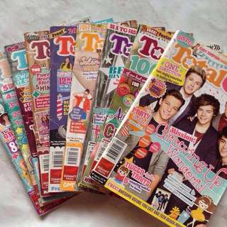 Total Girl Magazines (w/ posters)