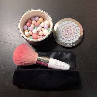Guerlain_illuminating powder_powder brush