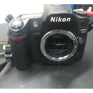 Nikon D80 Camera Body only. Does not include Charger/Battery.