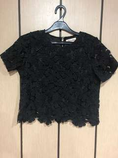 Chocochips Embroidery Top