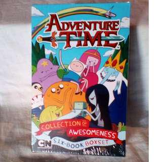 "Unopened Adventure Time ""Collection of Awesomeness"" Six-Book Set"