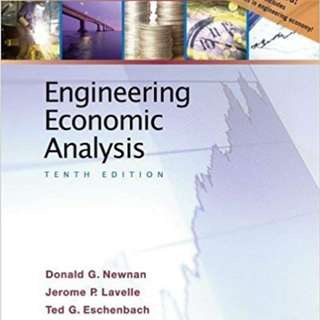 Engineering Economic Analysis, 11th, Oxford University Press.
