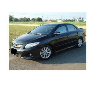 2009年 Toyota  ALTIS   黑 ✅0頭款 ✅免保人✅低利率✅低月付 FB搜尋:阿源 嚴選二手車/中古車買賣