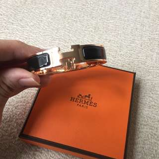 ❗️NEW❗️AUTHENTIC HERMES Clic Clac H Bracelet - PM size ‼️Full set with receipt ‼️