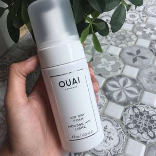 OUAI Air Dry Foam Mousse 120ml