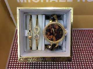 Authentic Michael Kors Watch & Bangles