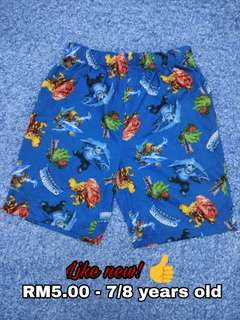 7/8 years old - Short Pants Kids Boy Cloth