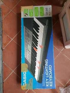Casio lighting keyboard