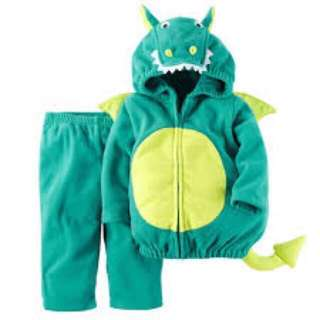 Carters baby dragon costume