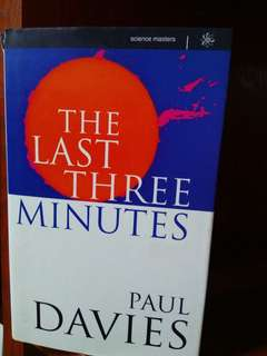 the last three minutes paul davies
