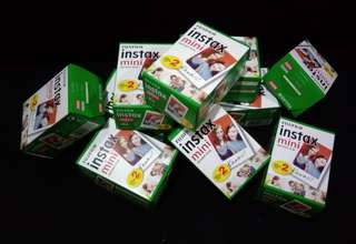 Fujifilm Instax Mini instant film twin pack (20pcs)