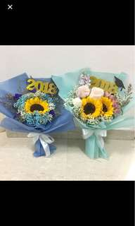 Graduation Bouquets Sunflower