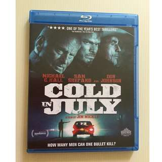 Cold in July Blu Ray