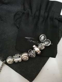 Thomas Sabo x Pandora Charms and Bracelet Set