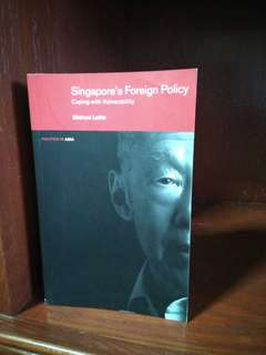 lee kuan yew singapore's foreign policy coping with vulnerability